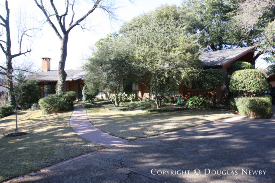 House Designed by Architect Frederick Coyderoy Dale - 3606 Lovers Lane
