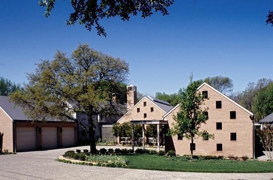 Modern Estate Home Designed by Architect Frank Welch - 11505 Hillcrest Road