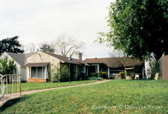 Home Designed by Architect Charles S. Dilbeck - 2237 West Jefferson Boulevard