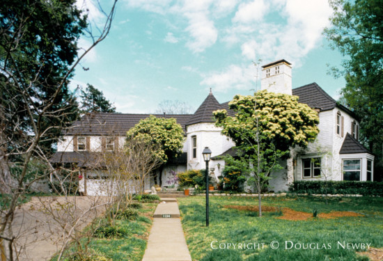 Real Estate Designed by Architect Charles S. Dilbeck - 1134 Lausanne Avenue