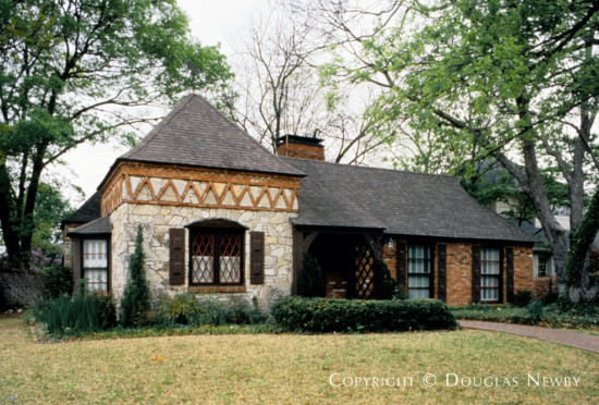 House Designed by Architect Charles S. Dilbeck - 4101 Stanhope Street