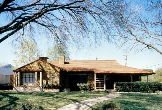 Home Designed by Architect Charles S. Dilbeck - 805 Shady Lane