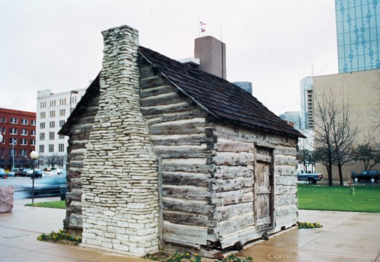 Significant House in Downtown Dallas - John Neely Bryan Cabin