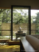 Living Room in Architect Frank Welch Designed Home by Paul Draper, Interior Designer