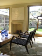 Master Bedroom Designed by Paul Draper in Architect Designed Home on Farquhar