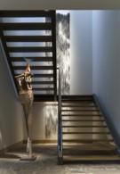 Paul Draper Stairway in Frank Welch Home