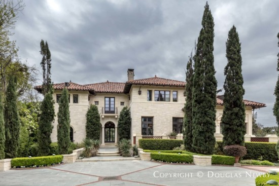 Residence Designed by Architect Greg Wyatt - Greg Wyatt Home on Rockbrook