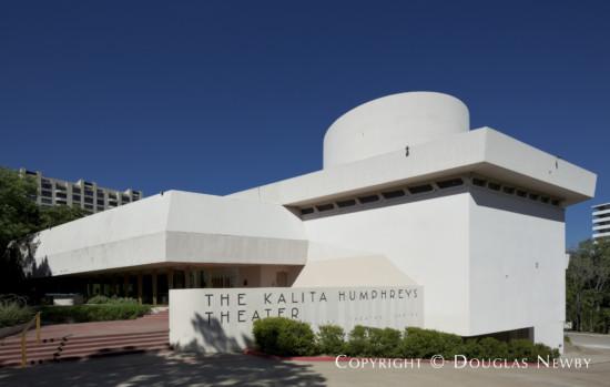 Building Designed by Architect Frank Lloyd Wright - Kalita Humphreys Theater