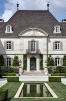 Front Facade of the Crespi Hicks Estate Home Designed by Maurice Fatio