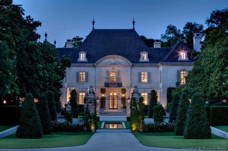 Preston Hollow French Chateau Home sitting on 11.23 Acres