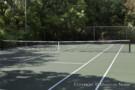 Tennis Court in Estate Home at Mayflower Estates
