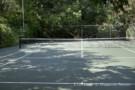 Tennis Court at Dallas Estate Home