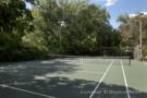 Tennis Court at Crespi Hicks Estate