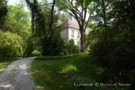 Path To Guest House of Dallas Estate Home