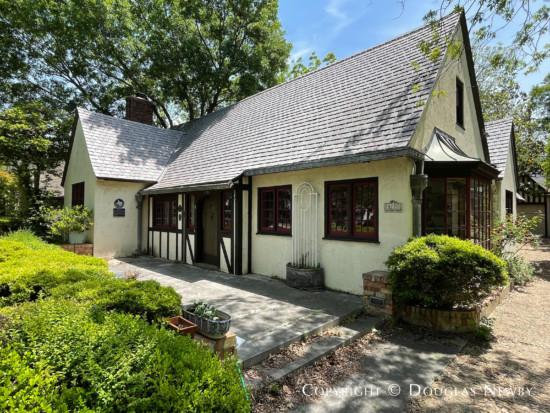Significant Normandy Cottage House Designed by Architect Mark Lemmon - 3211 Mockingbird Lane