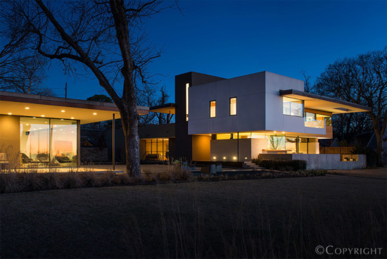 House Designed by Architect Cliff Welch - 9326 West Lake Highlands Drive