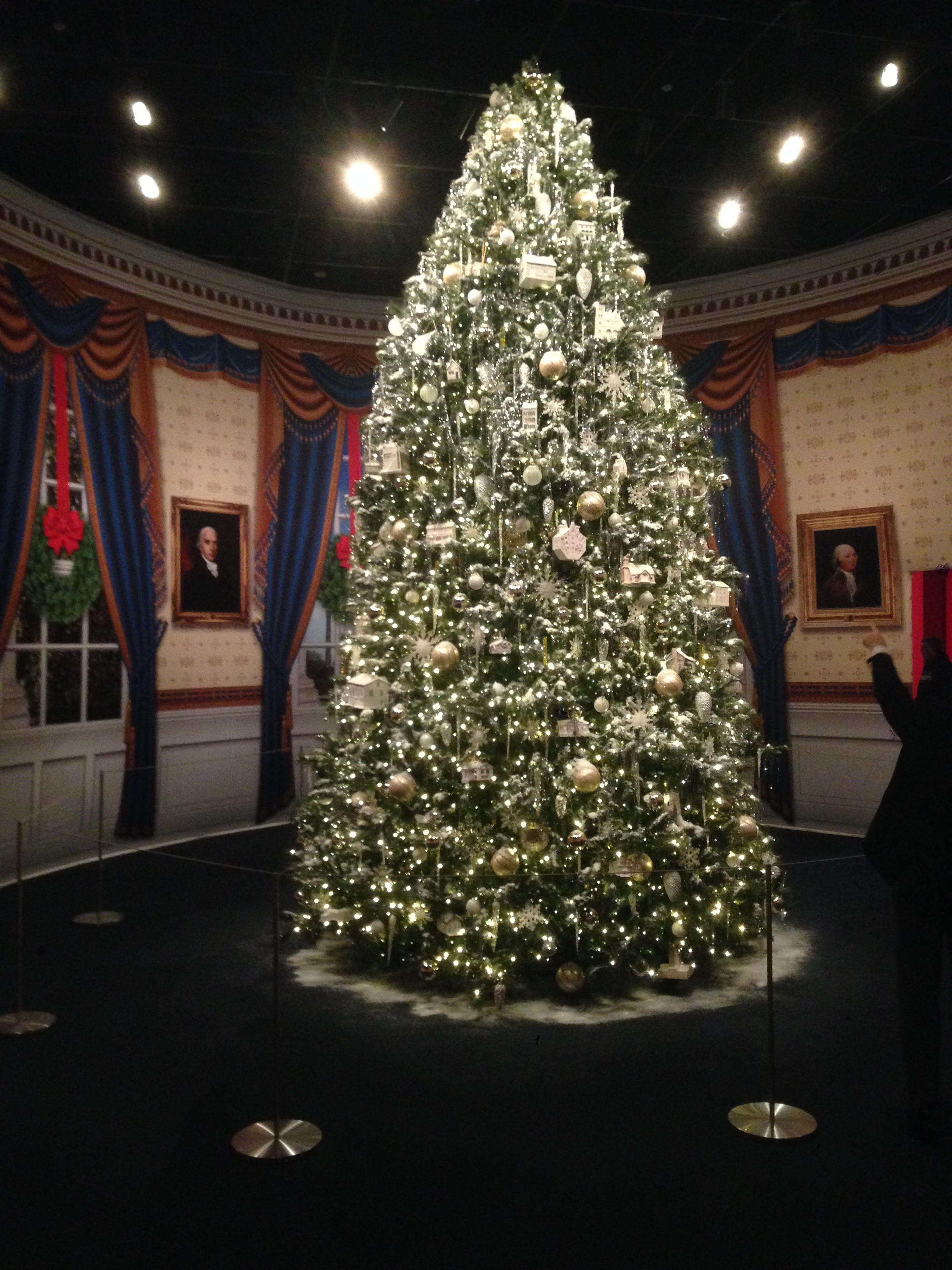 Christmas Tree in the Bush Presidential Library