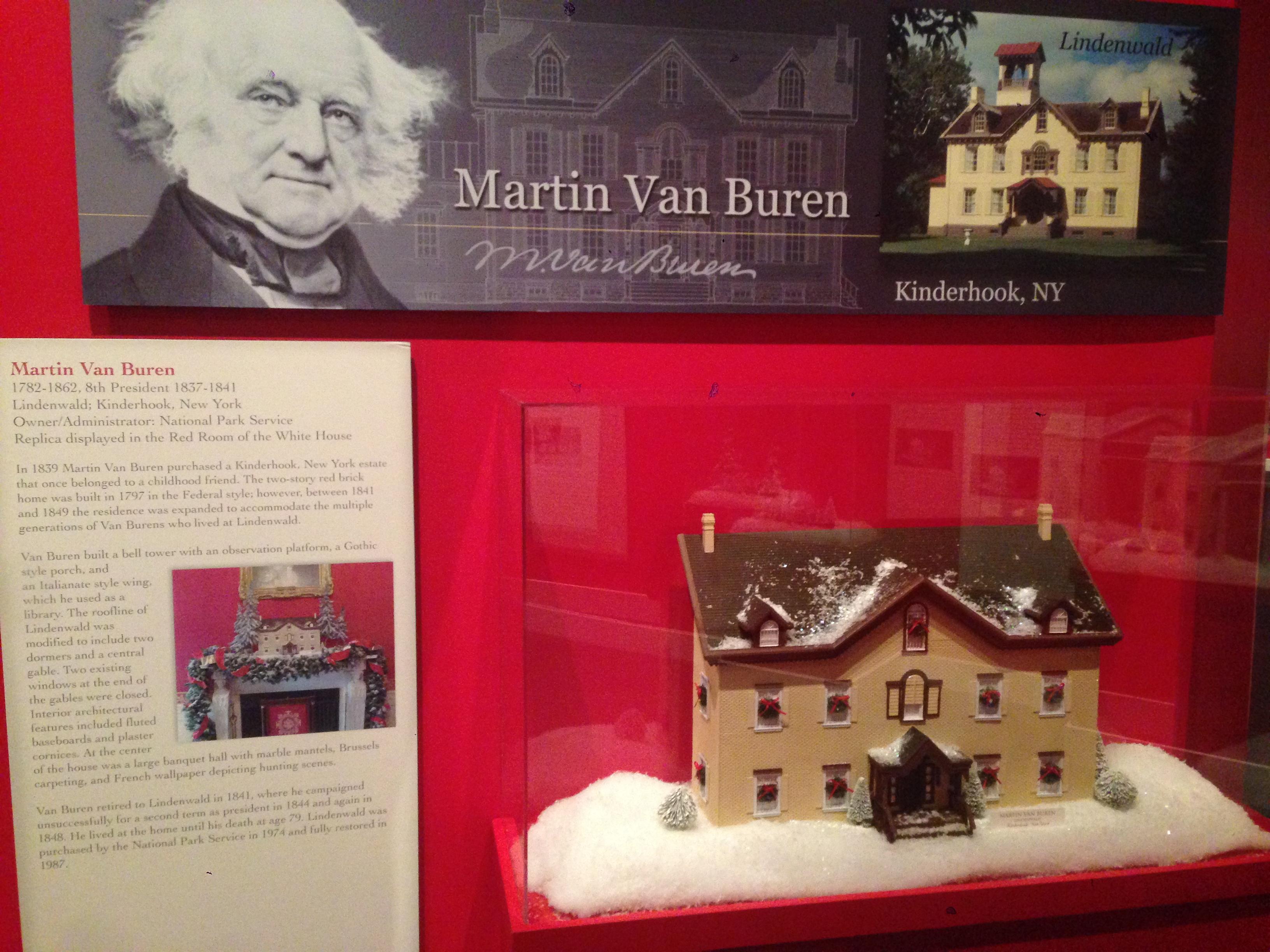 Van Buren's Christmas House