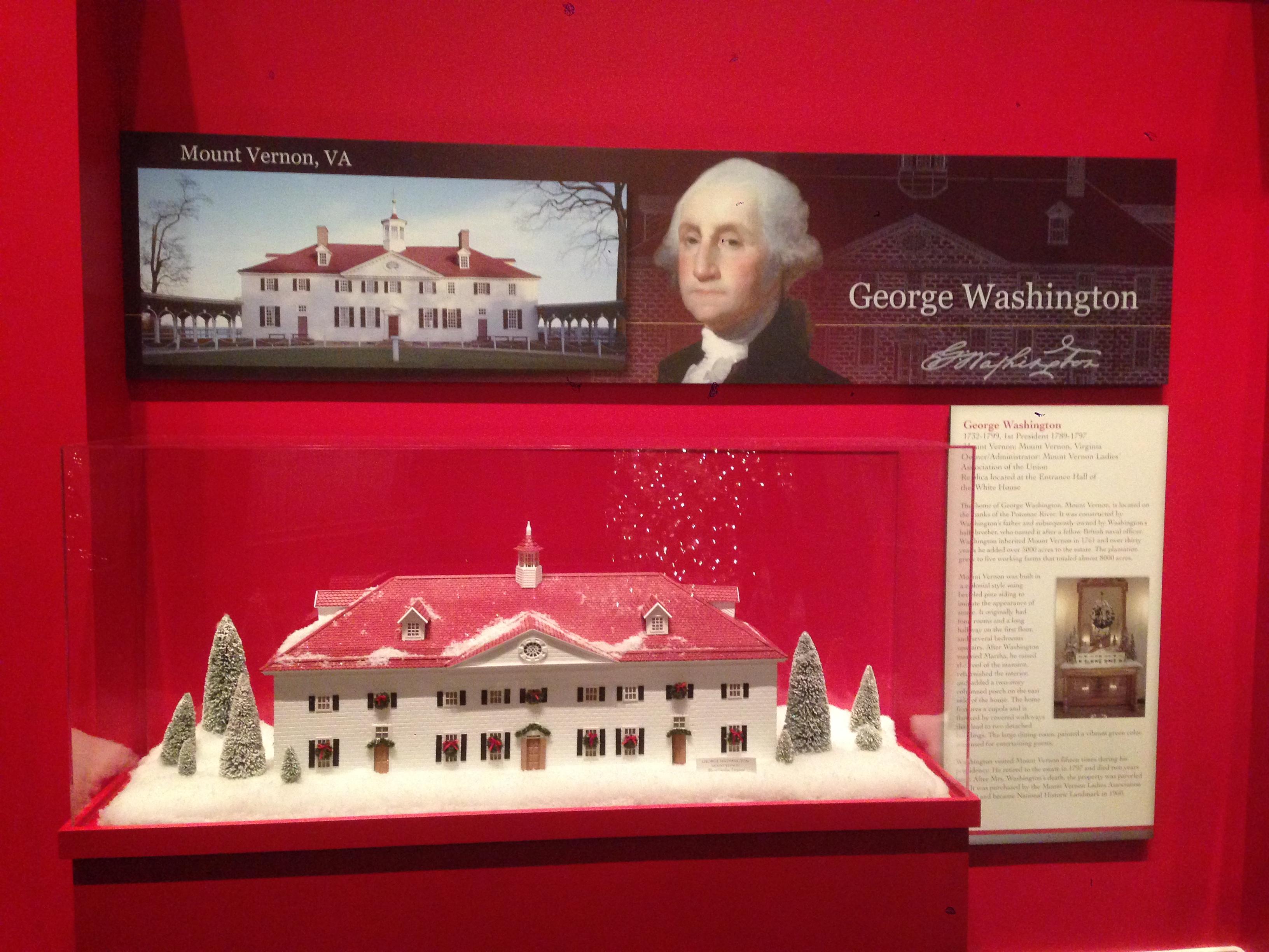 Washington's Christmas House