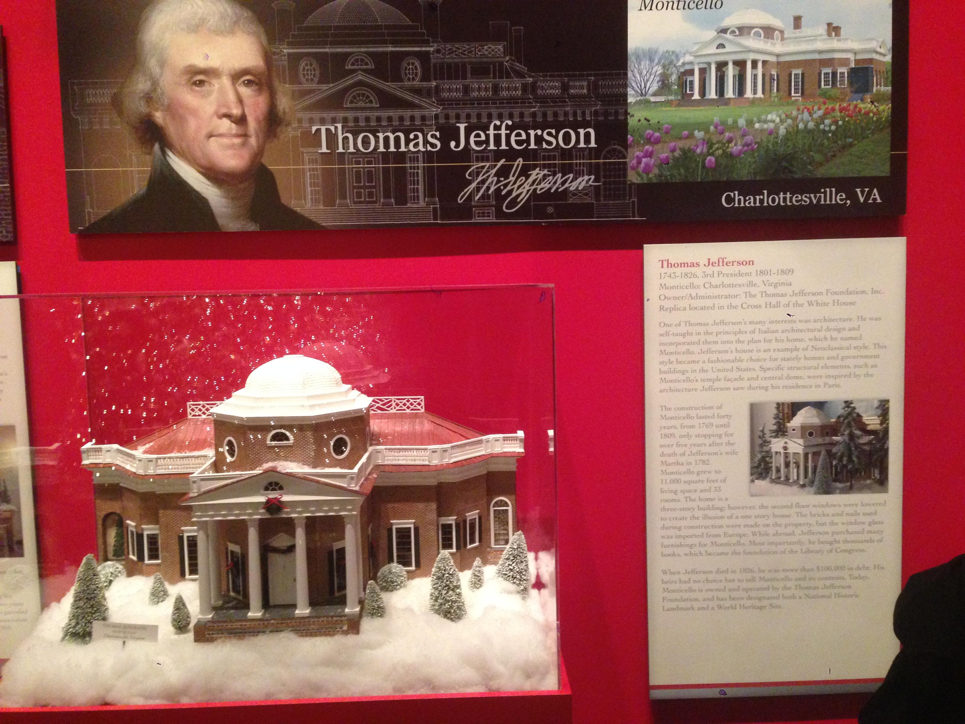 Jefferson's Christmas House