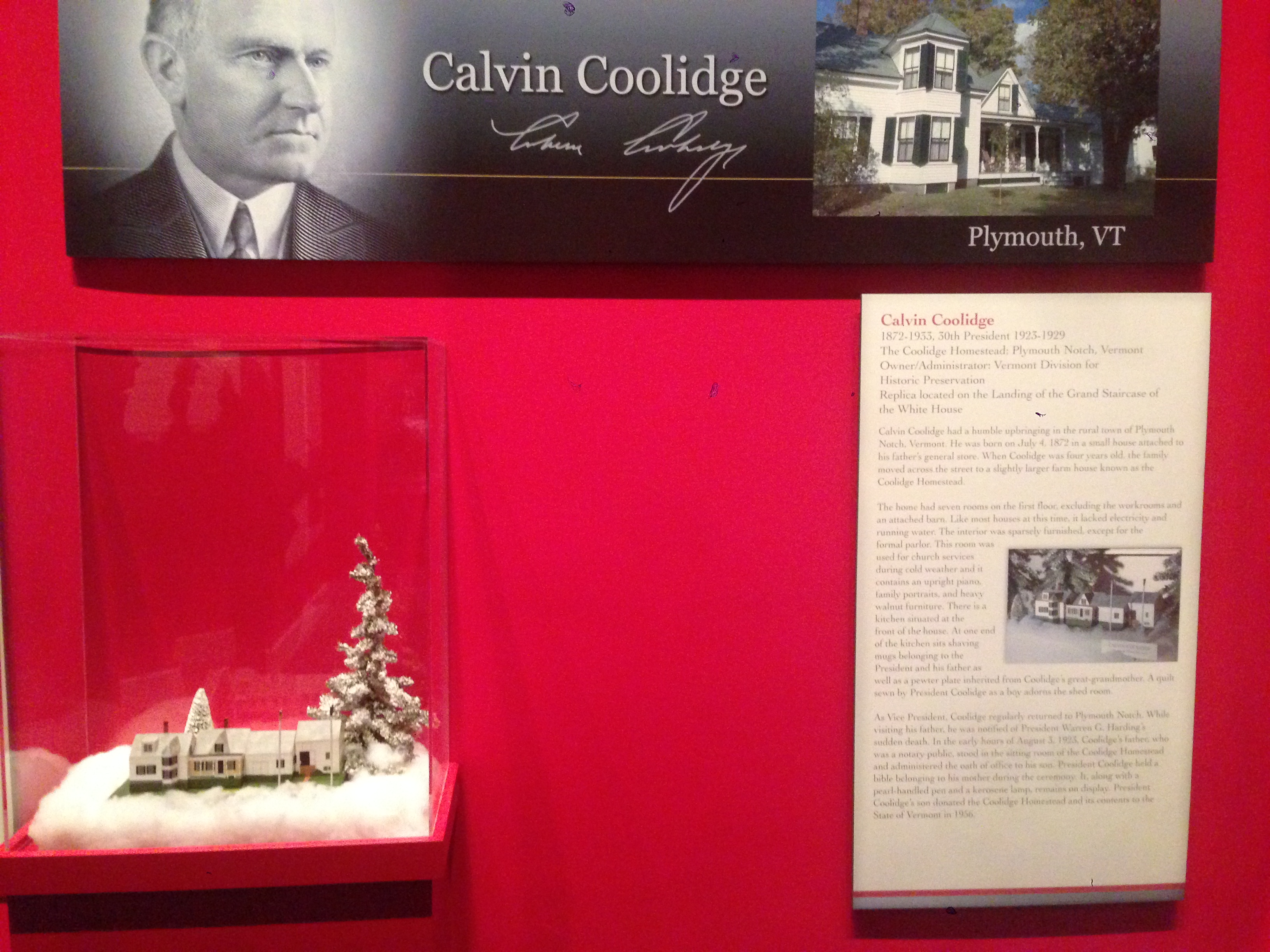 Coolidge's Christmas House