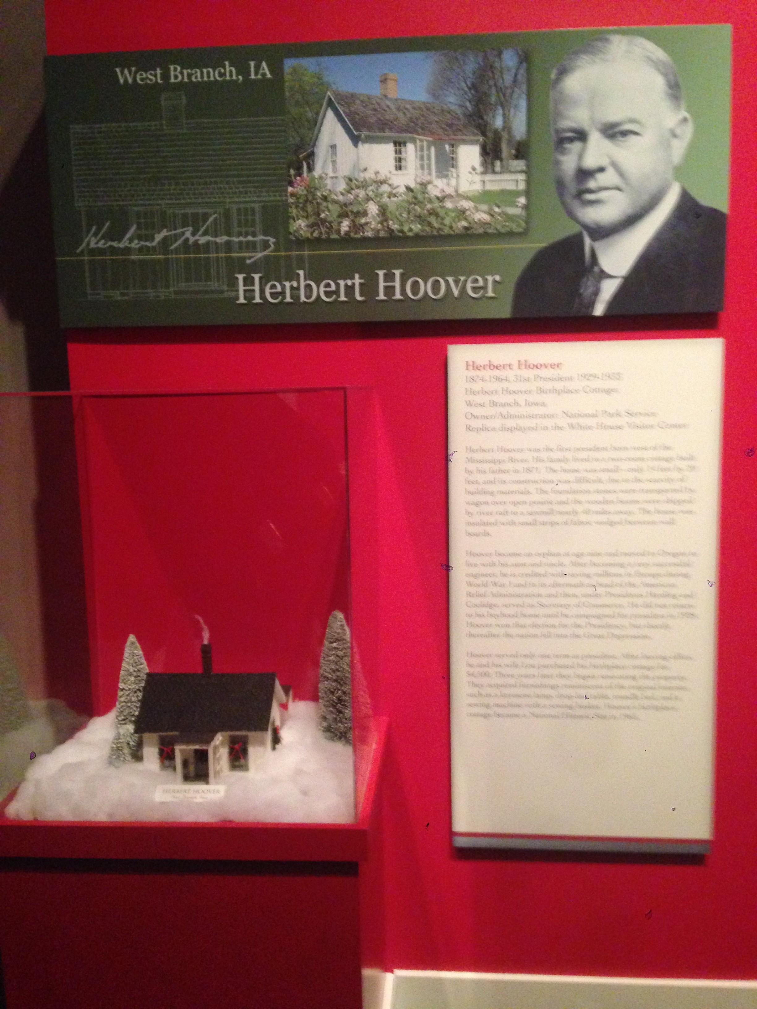 Hoover's Christmas House