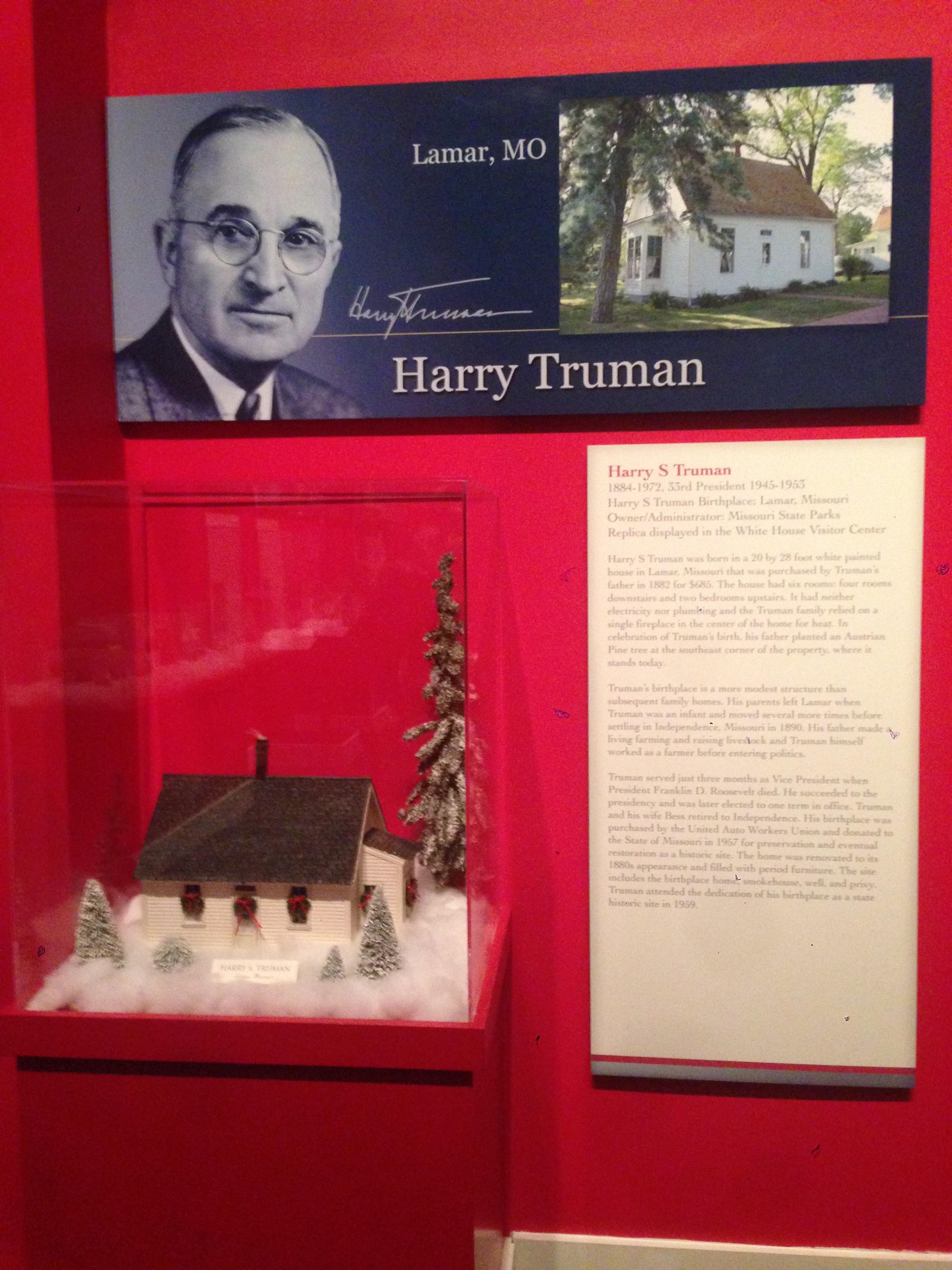 Truman's Christmas House