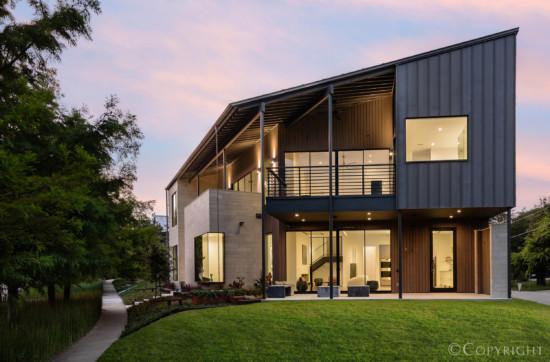 Scott Marek Designed Modern Home in Dallas