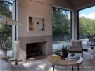 Max Levy Designed Living Area in Greenway Parks