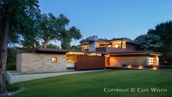 Preston Hollow Modern Home Designed by Cliff Welch