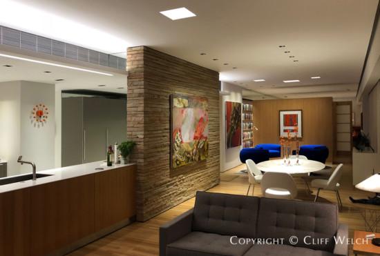 Cliff Welch Designed Modern Highrise