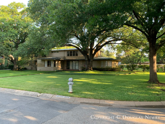 John Carsey Designed Home in Greenway Parks