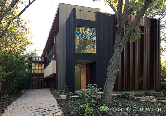 Architect Cliff Welch Designed Modern Home