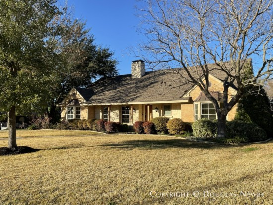 White Rock Lake Home for Sale