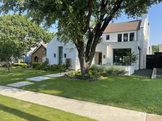 Transitional Modern Next to Original Lakewood Heights Home