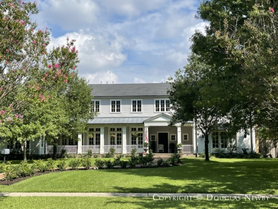 Two-Story Frame Home with Wide Front Porch