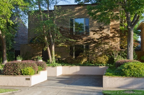 Katy Trail Corridor of Old Highland Park Contemporary Home