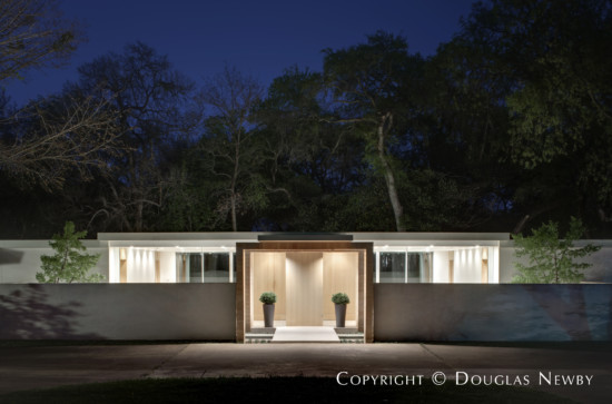 Mid-Century Modern Home Designed by Architect Bentley Tibbs - Langdale House