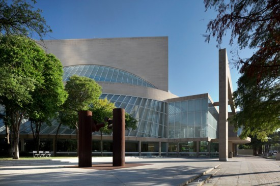 Modern Building in Downtown Dallas - Morton H. Meyerson Symphony Center