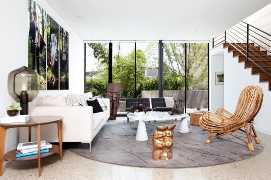 Modern Residence Designed by Architect Joshua Rice - 715 Stevens Wood Court