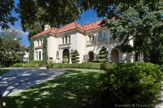 Mediterranean House in Highland Park - 4608 Lakeside Drive
