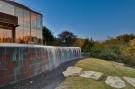 Copper Wall of Swimming Pool of Glen Abbey Modern Home in Dallas