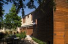 Textures and Colors of Glen Abbey Home Reflect Pallet of the Forested Site