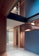 Open Hallway in Contemporary Glen Abbey Home
