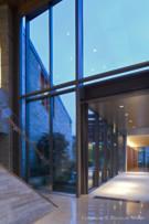 Large Windows Reveal Beautiful Neighborhood in Glen Abbey Home