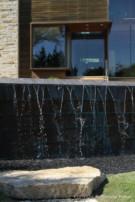 Water Cascading From Glen Abbey Pool