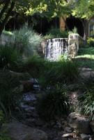 Stream Flowing Through Landscape Behind Glen Abbey Estate Home