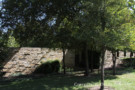 Shaded Wall Provides Privacy for Glen Abbey Estate Home