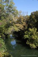 White Rock Creek Running Through Property in Glen Abbey Gated Neighborhood