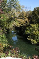 View of White Rock Creek From Glen Abbey Modern Home